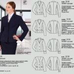 Пошив деловых жакетов женских